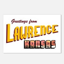 Lawrence Postcards (Package of 8)