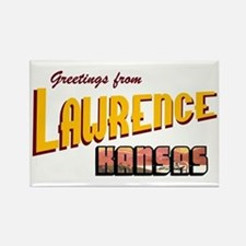 Lawrence Rectangle Magnet