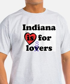 Indiana is for Losers Ash Grey T-Shirt