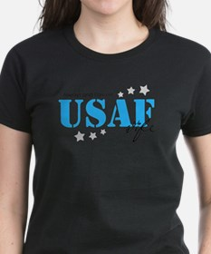 USAF Wife - Always and Forever T-Shirt