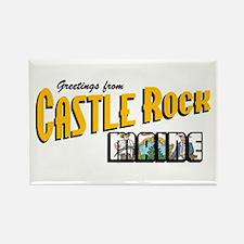 Castle Rock Rectangle Magnet