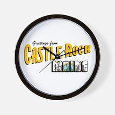 Castle Rock Wall Clock