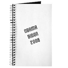 Obama Biden Stamped Journal