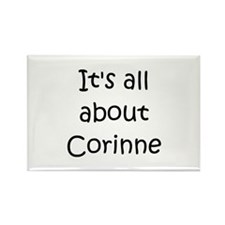Funny Corinne Rectangle Magnet