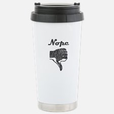 'Nope' Travel Mug