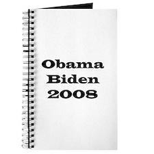 Obama Biden 2008 Journal