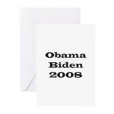 Obama Biden 2008 Greeting Cards (Pk of 10)