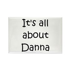 Funny Danna Rectangle Magnet