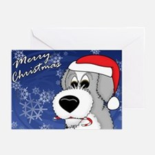 Cdy Old English Sheepdog Christmas Cards (10 Pack)