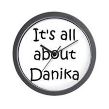 Funny Danika Wall Clock