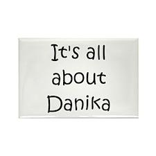 Funny Danika Rectangle Magnet
