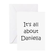 Cute Daniella's Greeting Card