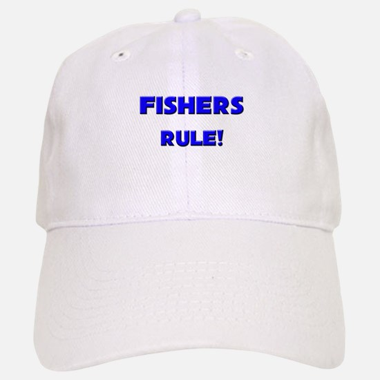 Fishers Rule! Baseball Baseball Cap