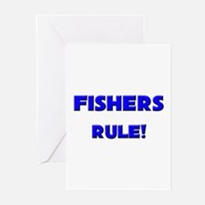Fishers Rule! Greeting Cards (Pk of 10)