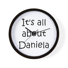 Daniela Wall Clock