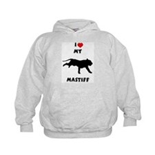 Heart My Mastiff Hoodie