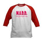 M.A.D.D. Kids Baseball Jersey