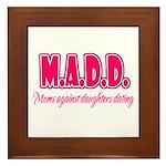 M.A.D.D. Framed Tile