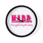 M.A.D.D. Wall Clock