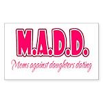 M.A.D.D. Rectangle Sticker