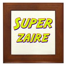 Super zaire Framed Tile