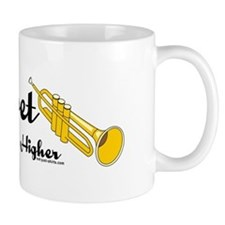 Higher Trumpet Small Mugs