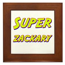 Super zackary Framed Tile
