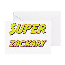 Super zackary Greeting Card