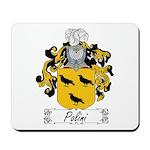 Polini Family Crest Mousepad