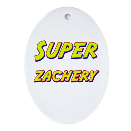 Super zachery Oval Ornament