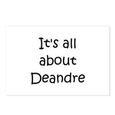 Funny Deandre's Postcards (Package of 8)