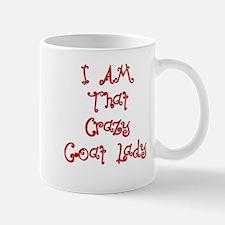 I Am That Crazy Goat Lady Mug