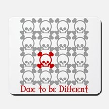 Dare to be Different - red Mousepad