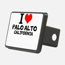I Love Palo Alto, California Hitch Cover