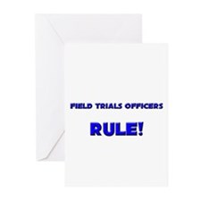 Field Trials Officers Rule! Greeting Cards (Pk of