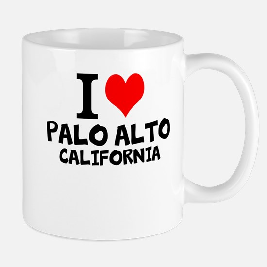 I Love Palo Alto, California Mugs