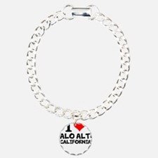 I Love Palo Alto, California Bracelet