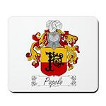 Popolo Family Crest Mousepad