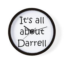 Cool Darrell name Wall Clock