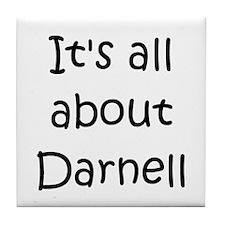 Funny Darnell Tile Coaster
