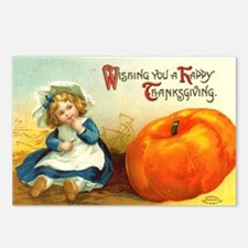 1909 Thanksgiving Postcards (Package of 8)