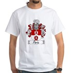 Porta Family Crest White T-Shirt