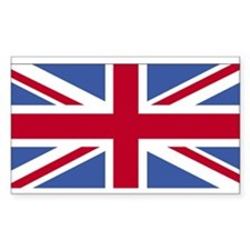 United Kingdom Rectangle Decal