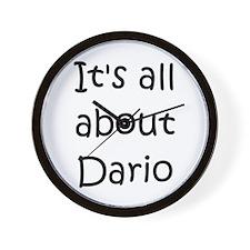 Cute Dario Wall Clock