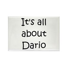 Cute Dario Rectangle Magnet