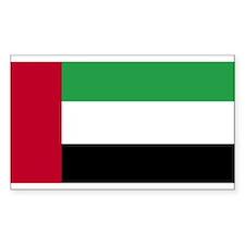 United Arab Emirates Rectangle Decal