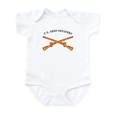 Infantry Branch Insignia U.S. Infant Bodysuit