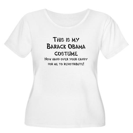 Anti-Obama Halloween Women's Plus Size Scoop Neck
