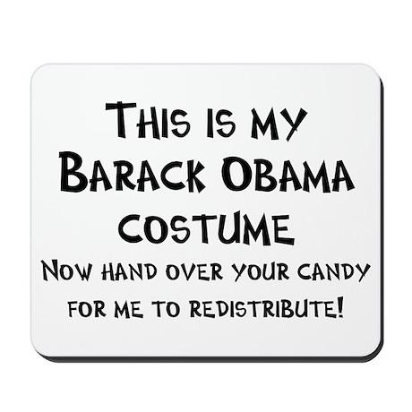 Barack Obama Halloween Costume Mousepad
