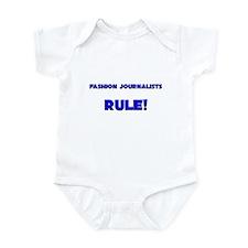 Fashion Journalists Rule! Infant Bodysuit